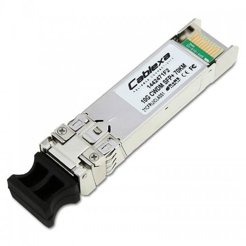 Adtran Compatible 1442471F2, SFP+ 11.3G CWDM 70 km, 1491nm