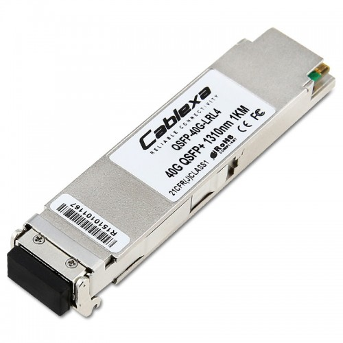 Arista Compatible QSFP-40G-LRL4, 40G QSFP+ Optic, up to 1km over duplex SMF