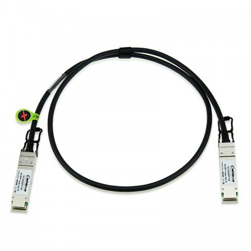 Avaya Compatible AA1404037-E6, 40G QSFP+ Passive Direct Attach Copper Cable, 0.5m
