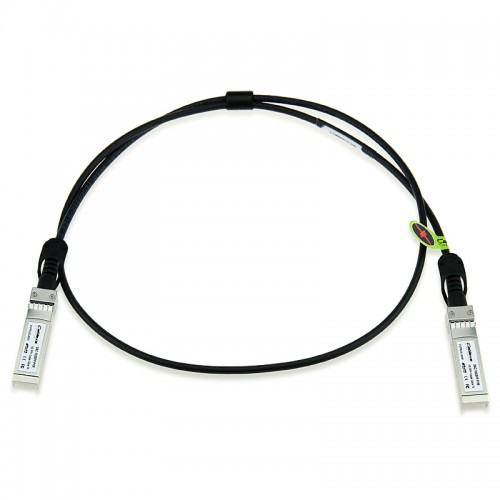 Brocade Compatible 10Gbps Direct Attached SFP+ copper cable, Active, 1 m, 58-1000026-01