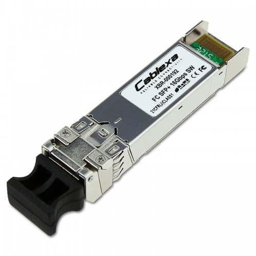 Brocade Compatible 16Gb FC Short Wavelength Optical Transceiver – 16 Gbit/sec, up to 380 m connectivity, 57-0000088-01, 1-pack