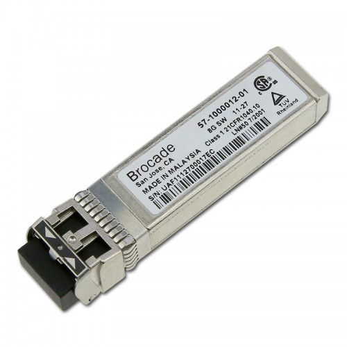 New Original Brocade 8G FC SWL SFP+ Transceiver