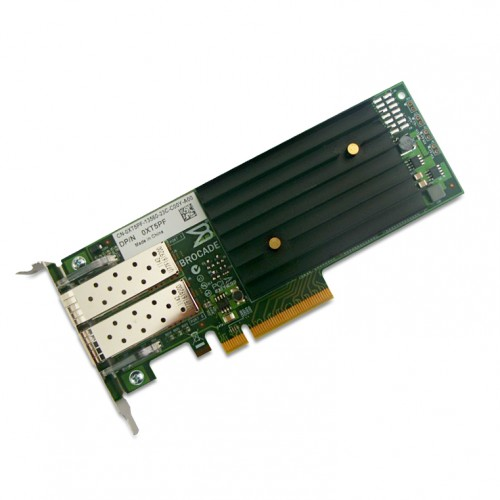 New Original Brocade BR-1020 10Gbps CNA PCIe Dual Port Network Adapter with Full and Low Profile