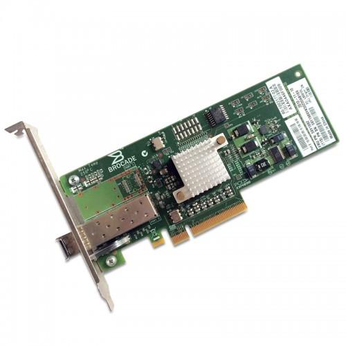 New Original Brocade Single Port 4Gbps Fibre Channel to PCIe Host Bus Adapter