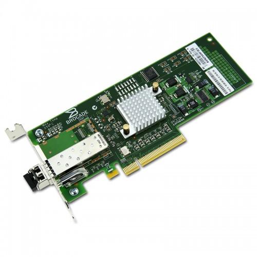 New Original Brocade Single Port 8Gbps Fibre Channel to PCIe Host Bus Adapter