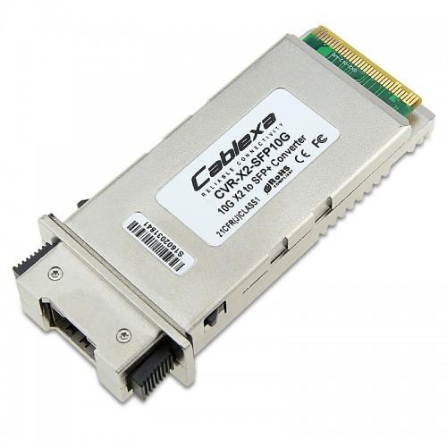 Cisco Compatible CVR-X2-SFP10G X2 to SFP+ OneX Converter Module