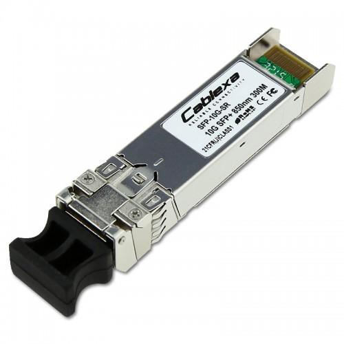Cisco Compatible SFP-10G-SR 10GBASE-SR SFP+ Module for MMF