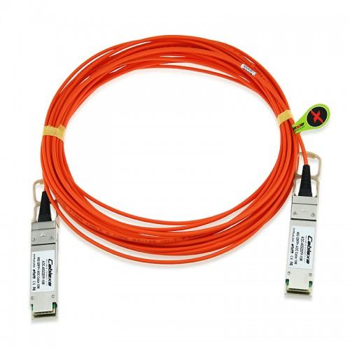 40GB QDR QSFP+ Active Optical Cable, QSFP+ AOC, 5 Meter