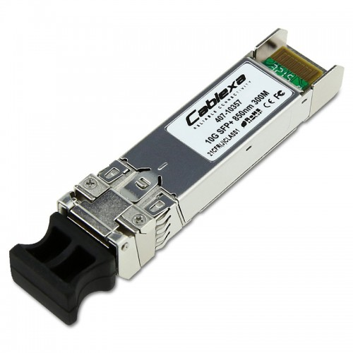 Dell Compatible 10GbE SR SFP+ Transceiver, 850nm, Duplex LC connector, Up to 300m over MMF