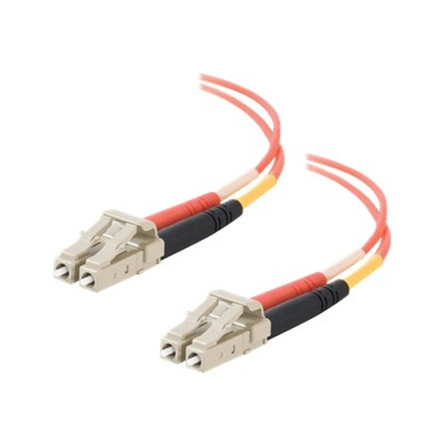 Dell Compatible LC-LC 50/125 OM2 Duplex Multimode PVC Fiber Optic Cable 33030 - patch cable - 13 ft - orange