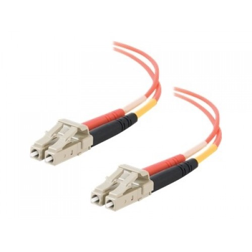 Dell Compatible LC-LC 62.5/125 OM1 Duplex Multimode Fiber Optic Cable 11102 - patch cable - 3.3 ft - orange