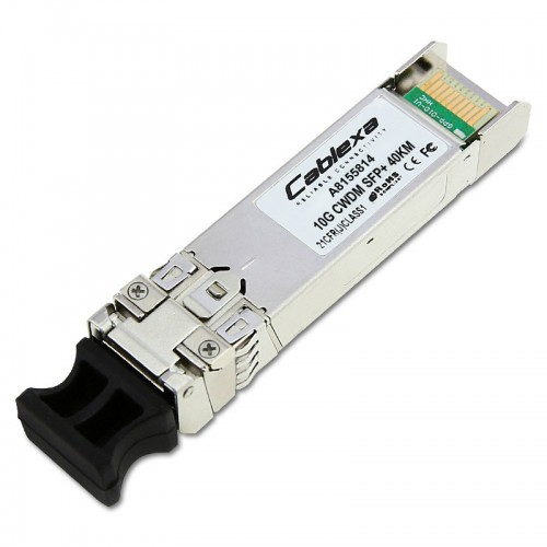 Dell Compatible Transition - SFP+ transceiver module - 10 Gigabit Ethernet - 10GBase-CWDM - LC single mode - up to 24.9 miles - 1550 nm