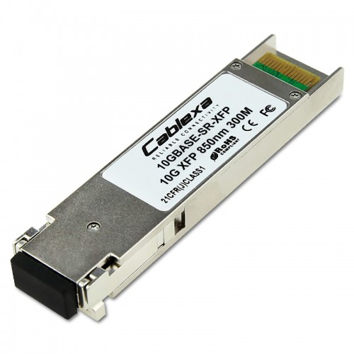 Extreme Compatible 10GBASE-SR-XFP, 10 Gb, 10GBASE-SR, IEEE 802.3 MM, 850 nm Short Wave Length, 33/82 m, LC XFP
