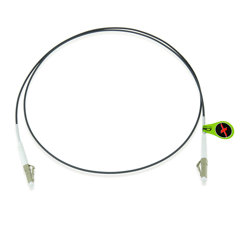 custom om2 50  125 multimode simplex armored fiber patch cable