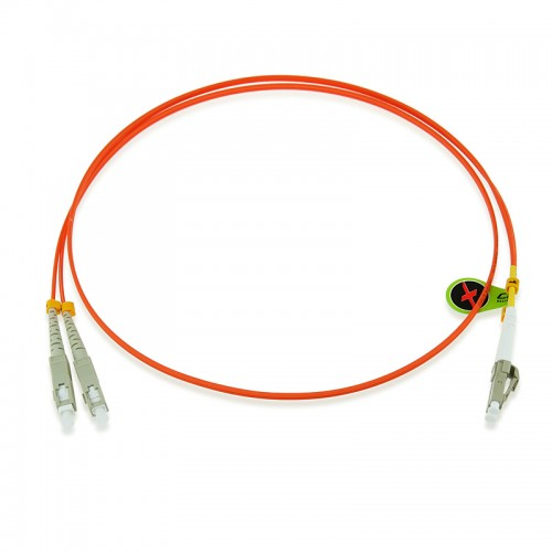 Custom OM1 62.5/125 Multimode Duplex Fiber Optic Patch Cable