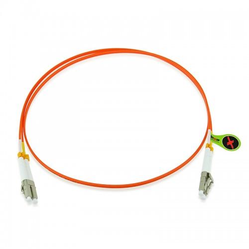 Custom OM2 50/125 Multimode Duplex Fiber Optic Patch Cable