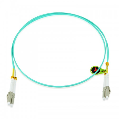 Custom OM3 10G 50/125 Multimode Duplex Fiber Optic Patch Cable