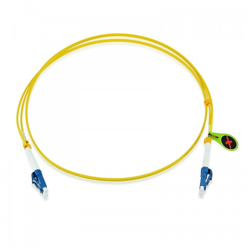 Custom OS1 9/125 Singlemode Duplex Fiber Optic Patch Cable