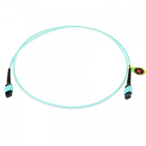 8 Fiber Multimode OM4 MPO Patch Cable
