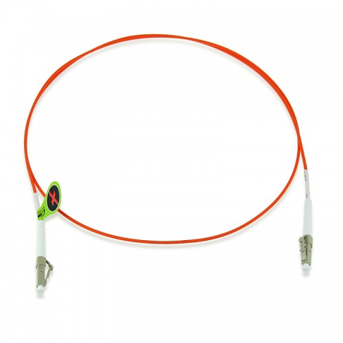 Custom OM1 62.5/125 Multimode Simplex Fiber Optic Patch Cable