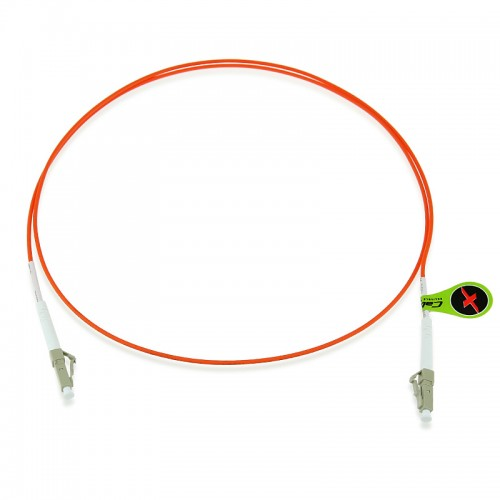 Custom OM2 50/125 Multimode Simplex Fiber Optic Patch Cable
