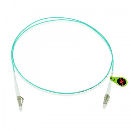 Custom OM4 40G 50/125 Multimode Simplex Fiber Optic Patch Cable