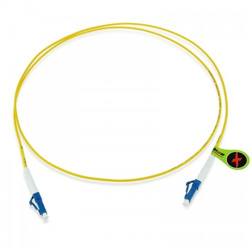 Custom OS1 9/125 Singlemode Simplex Fiber Optic Patch Cable