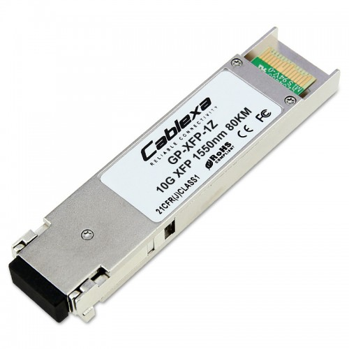 Force10 Compatible GP-XFP-1Z, ZR/ZW 10 Gigabit Ethernet XFP optics module, LC connector