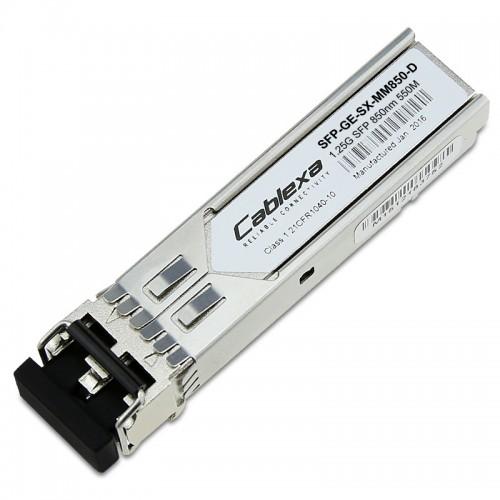 H3C Compatible SFP-GE-SX-MM850-D, 1000BASE-SX SFP Transceiver, MMF 850nm 550m, Duplex LC, DDM