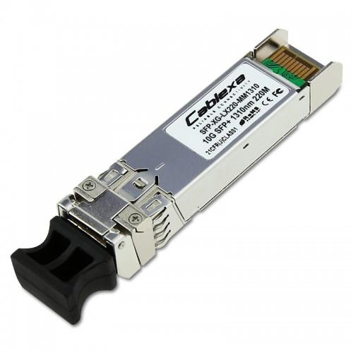 H3C Compatible SFP-XG-LX220-MM1310, 10GBASE-LRM SFP+ Module, MMF 1310nm, 220m