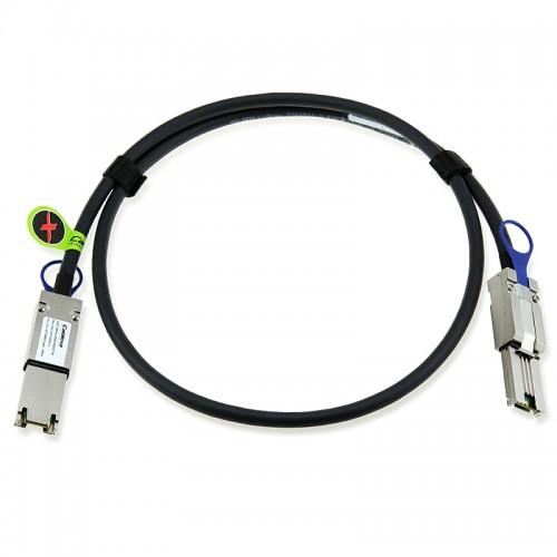 HP Compatible 419569-B21 Ext Mini SAS .5m Cable, 408770-001