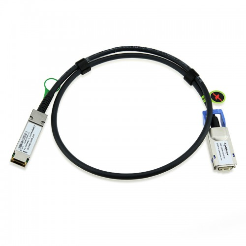 HP Compatible 498380-B21 1M QSFP-CX4 DDR SDR Infiniband Cable