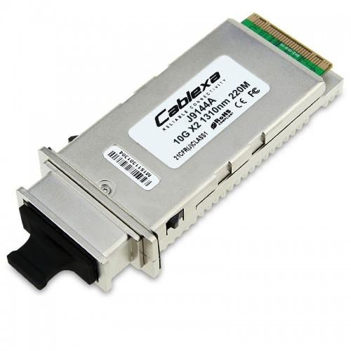 HP Compatible J9144A X131 10G X2 SC LRM Transceiver