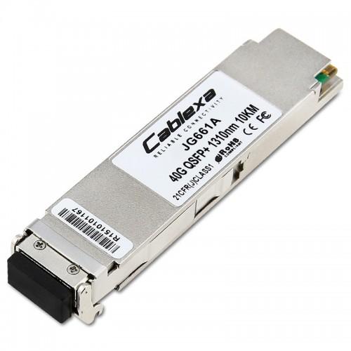 HP Compatible JG661A X140 40G QSFP+ LC LR4 SM 10km 1310nm Transceiver