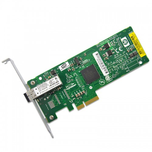 HP NC373F PCI-E MULTIFUNCTION 1000SX GIGABIT SVR ADAPTER, 395864-001