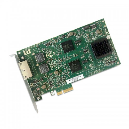 HP NC380T PCI-E DUAL PORT MULTIFUNCTION GIGABIT SERVER ADAPTER, 374443-001