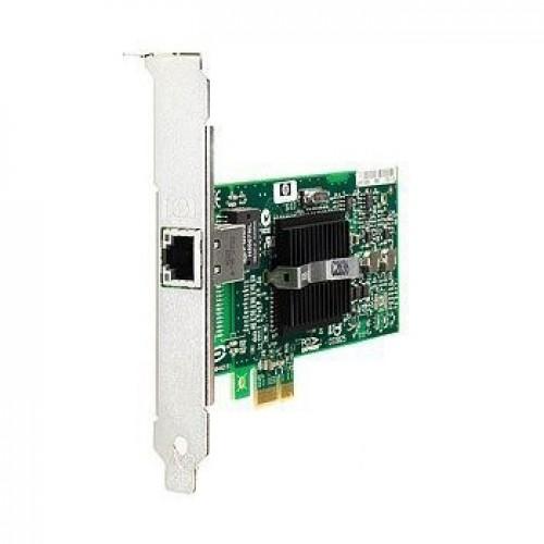 HP NC110T single-port copper single-lane (x1) PCI-Express 10/100/1000 Base-T gigabit server adapter, 434982-001, 434903-001