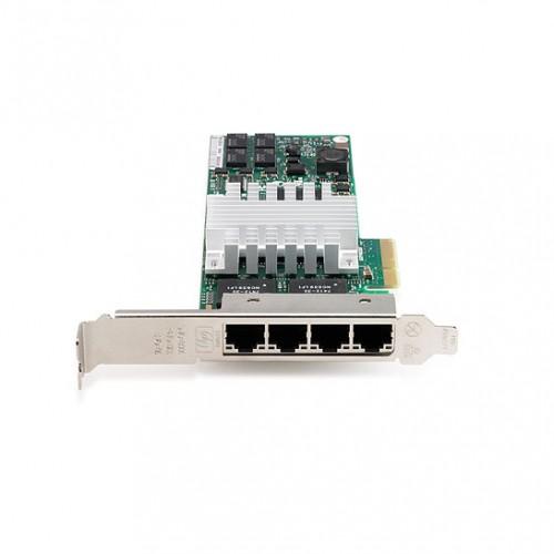HP NC364T PCI-E QUAD PORT GIGABIT SERVER ADAPTER, 436431-001, 435506-003