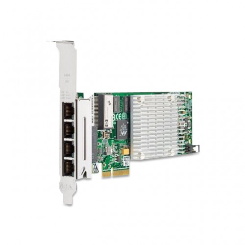 HP NC375T PCI EXPRESS QUAD PORT GIGABIT SERVER ADAPTER, 539931-001, 491176-001