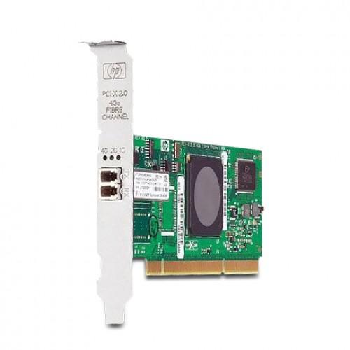 New Original HP PCI-X 2.0 SINGLE-PORT 4GB FC ADAPTER, AB378-60001
