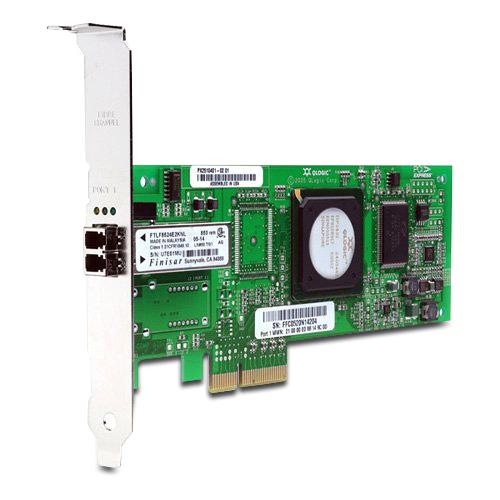 New Original HP STORAGEWORKS FC2143 4 GB PCI-X 2.0 HBA, 410984-001