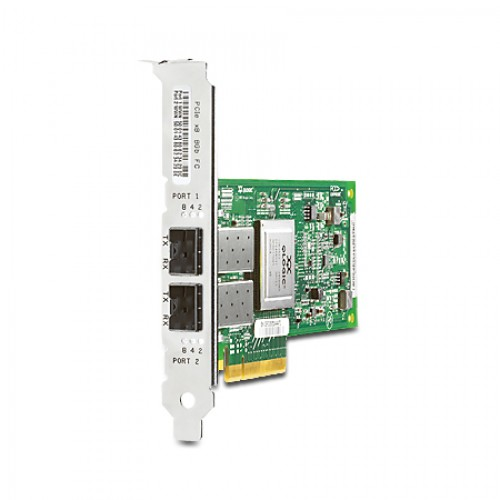 New Original HP PCI EXPRESS 2-PORT 8GB FIBRE CHANNEL SR (QLOGIC) ADAPTER