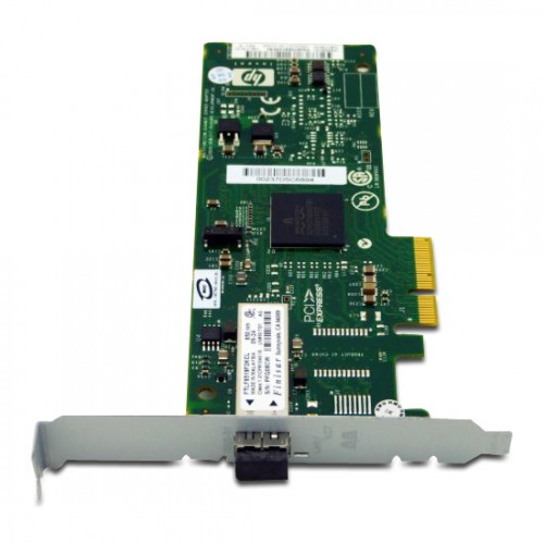 New Original HP 81E 8GB 1-PORT PCIE FIBRE CHANNEL HOST BUS ADAPTER, 489192-001