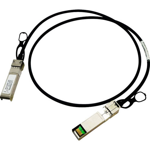 HP JD095C X240 10G SFP+ to SFP+ 0.65m direct attach copper cable, JD095-61201