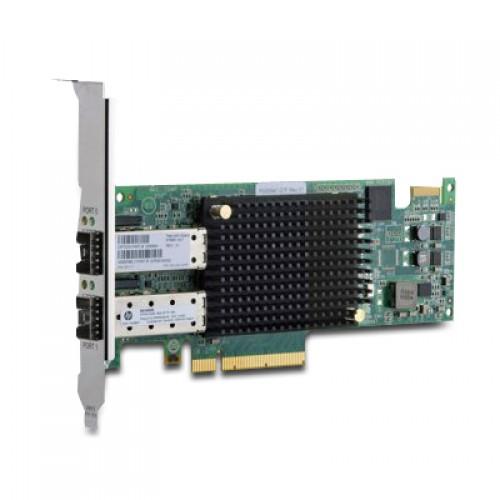 New Original HP SN1000E 16GB 2-PORT PCIE FIBRE CHANNEL HOST BUS ADAPTER, 676881-001