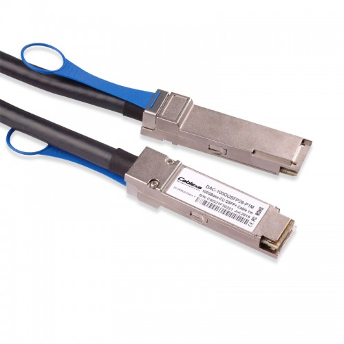 Huawei Compatible QSFP-100G-CU1M, QSFP28 to QSFP28 Copper Cable, Passive, 1 m, 02311KNW