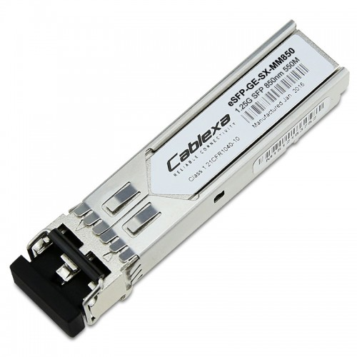 Huawei Compatible eSFP-GE-SX-MM850, Optical Transceiver, eSFP, GE, Multimode Module (850 nm, 0.5 km, LC), 02315204