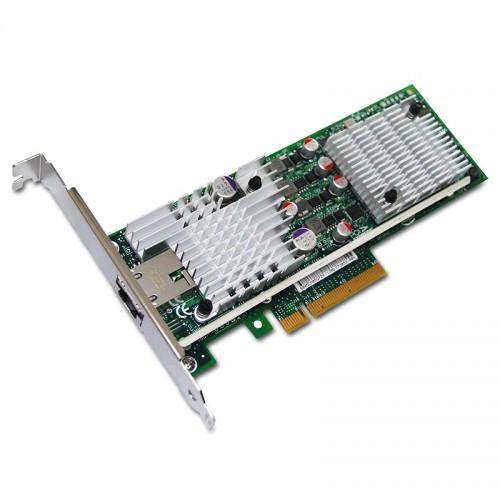 New Intel E10G41AT2, Intel 10 Gigabit AT2 Server Adapter, RJ45, 10GbE, PCIe, 82598