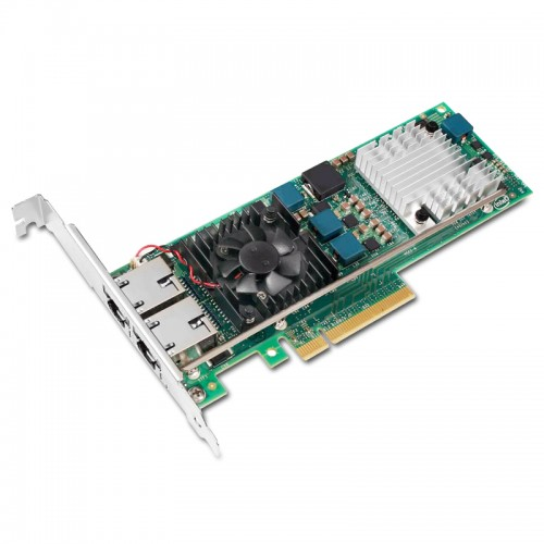 New Intel E10G42BT, Intel Ethernet Converged Network Adapter X520-T2, Intel 82599ES Controller, 10 GbE, Dual Port, RJ45 Copper