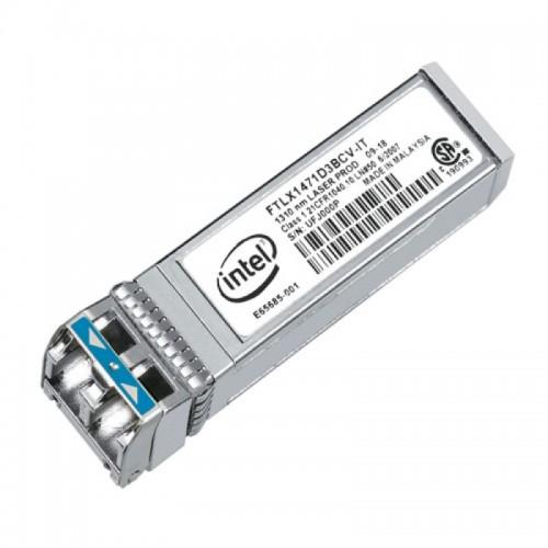 New Intel Original E10GSFPLR, Ethernet SFP+ Optics, 10GBASE-LR, 1000BASE-LX, Duplex LC, 1310nm SMF, 10km